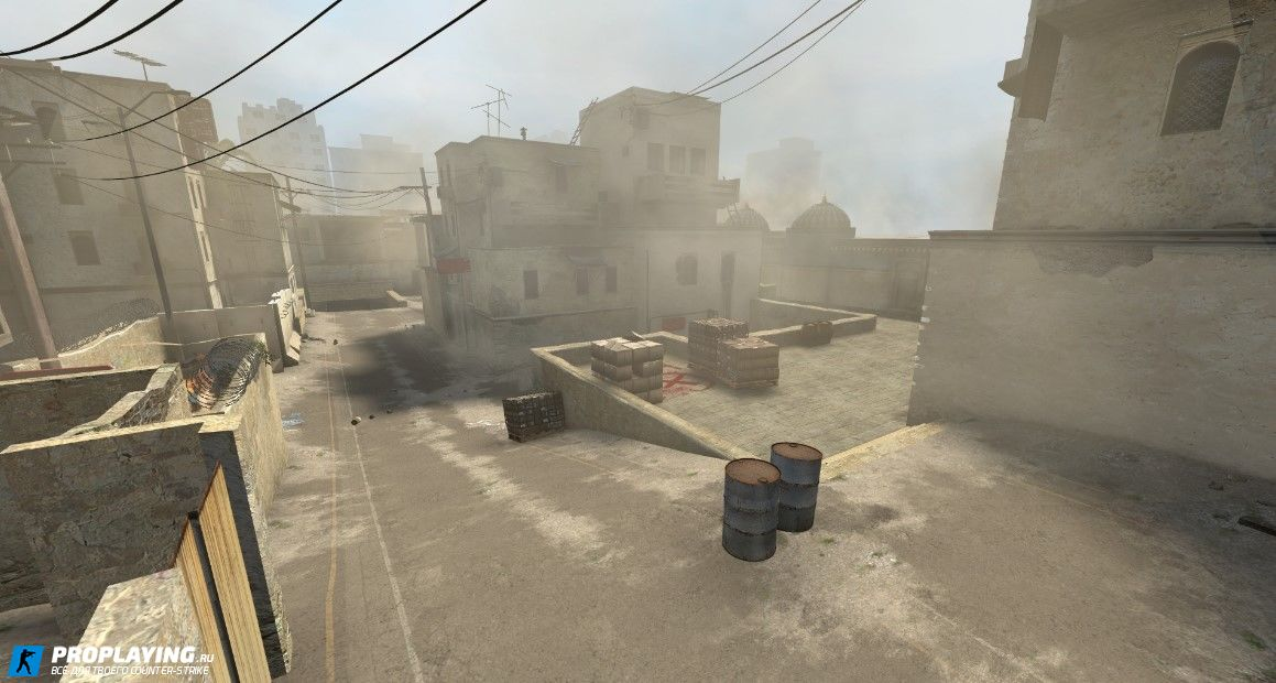 Карта De_dust2 CS:GO для Counter Strike: Source