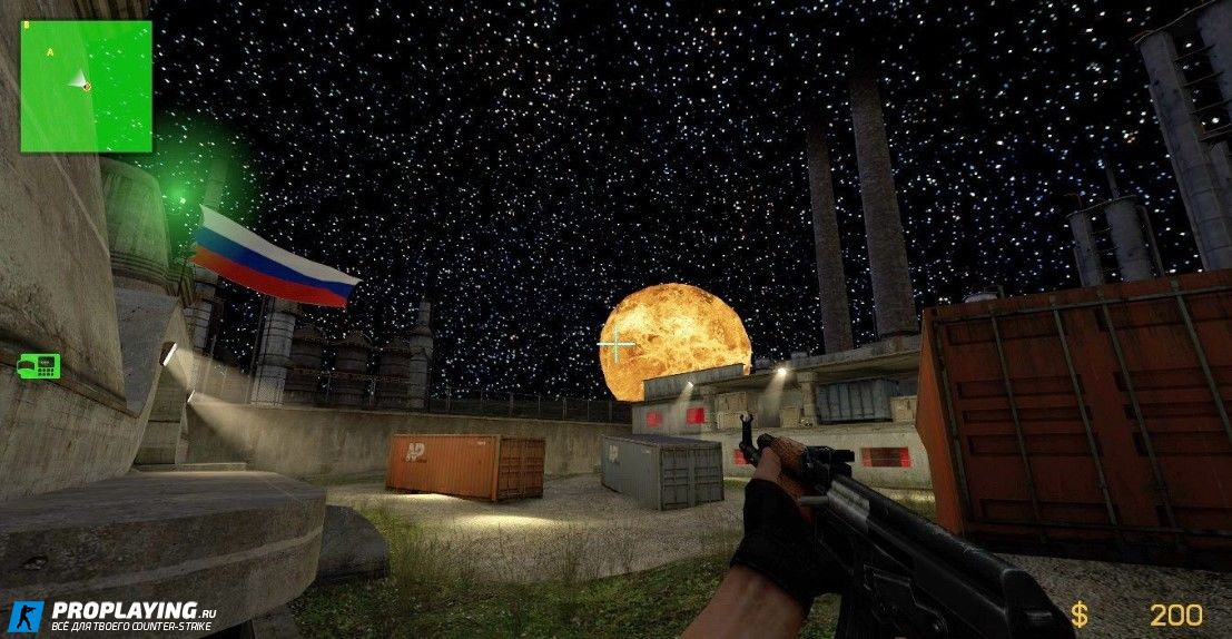 Карта de_crossfire для CS:S