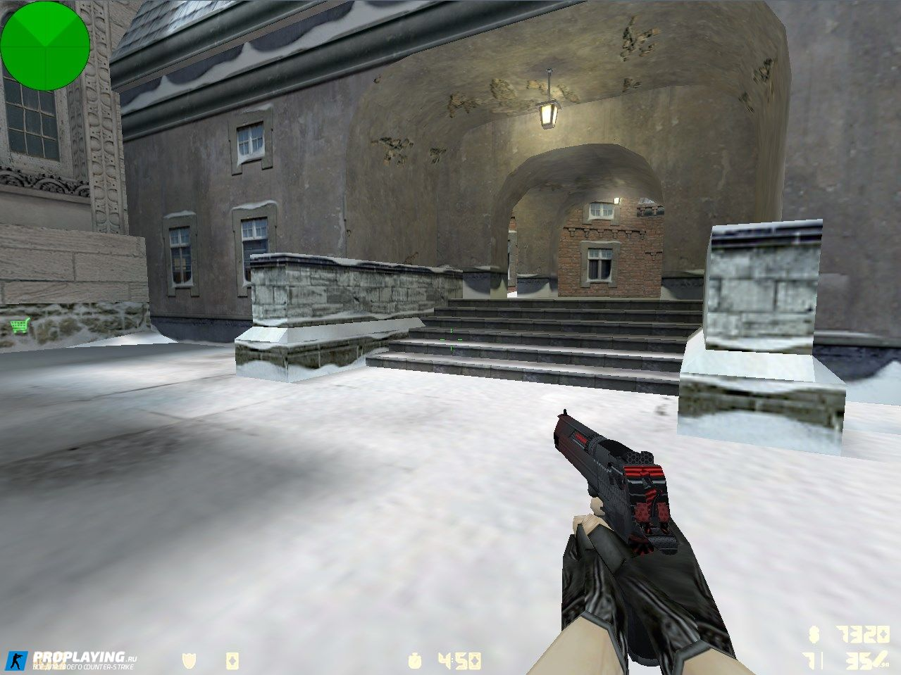 Скин Deagle «Red Carbon» для CS 1.6 с осмотром