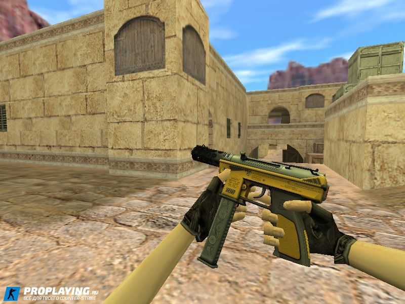 HD Tec-9 Fuel Injector для CS 1.6
