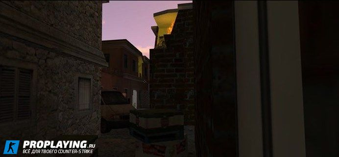 Карта zm_lost_town для CS 1.6