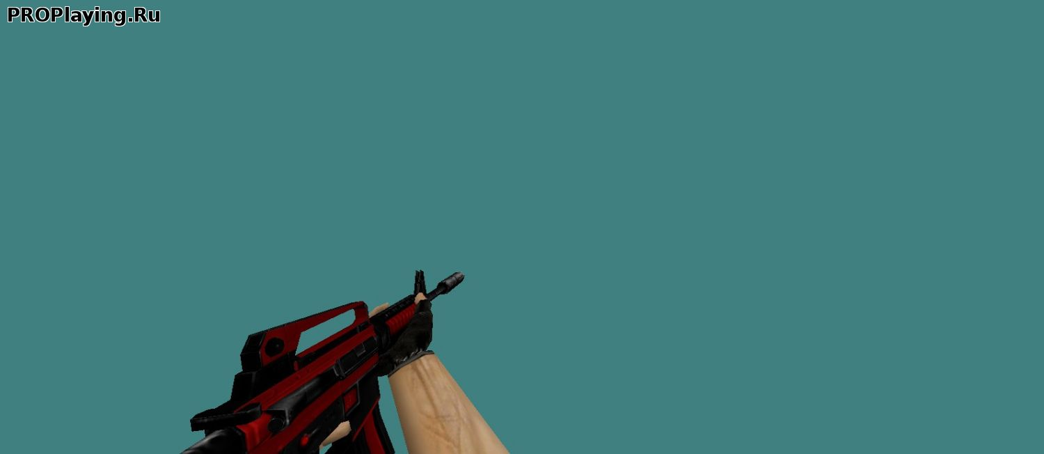 M4A1 Red-Black Royal CS1.6
