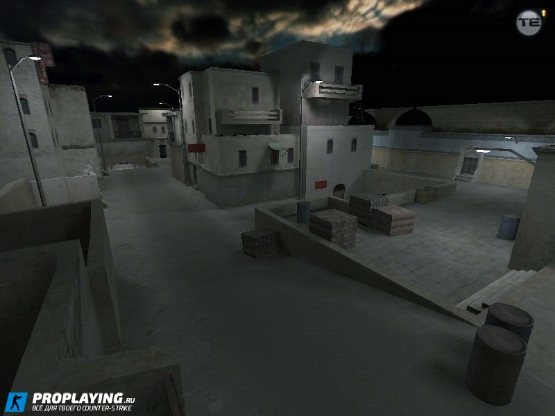 Карта de_dust2night_go для CS 1.6