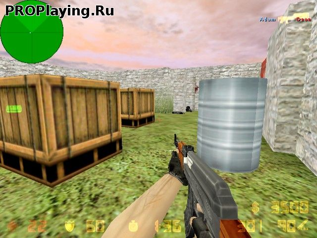 Карта de_AztecWarfare CS1.6