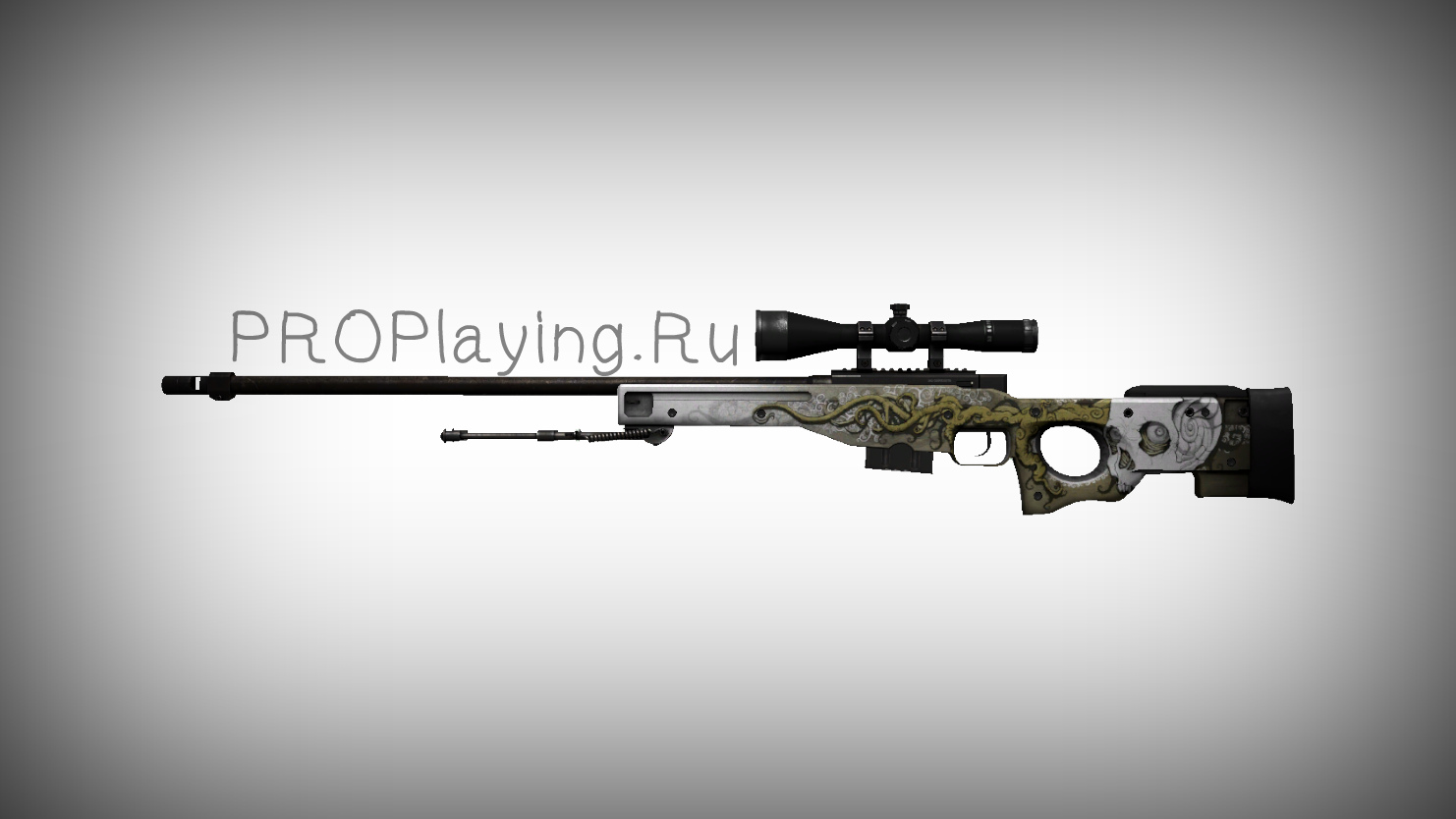 Модель HD AWP «Worm God» для КС 1.6