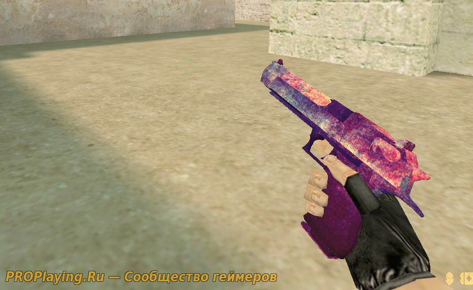 HD модель old purple deagle для CS1.6