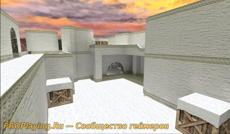 DE_KABUL_WINTER - карта к зиме для CS 1.6